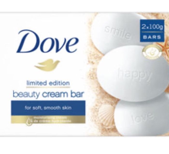 Dove Original Beauty Cream Soap Bars 2x100