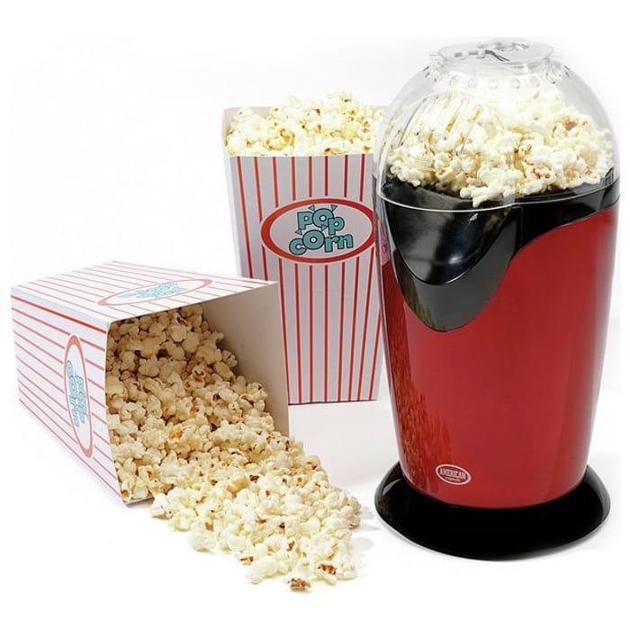 American Originals Popcorn Maker Click & Collect