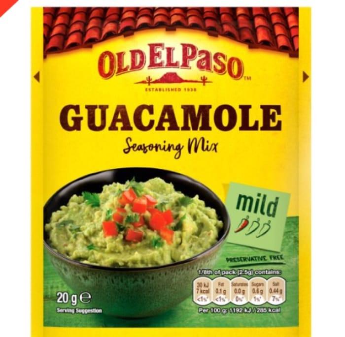 FREE Guacamole Mix