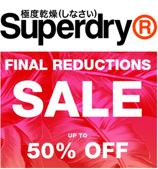 Superdry Sale - Final Reductions