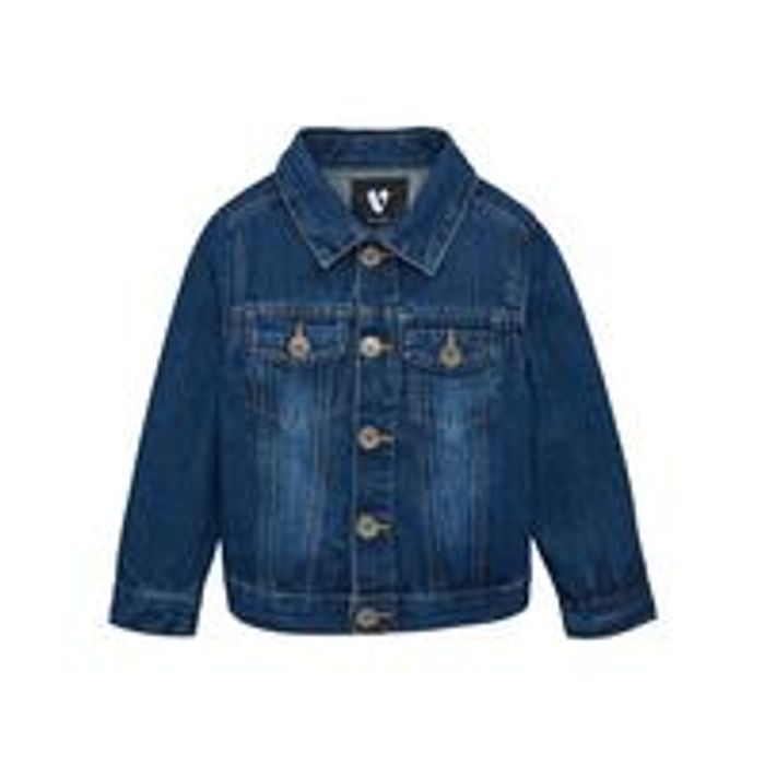 V by Very Boys Denim Jacket - Blue FREE Delivery and Returns
