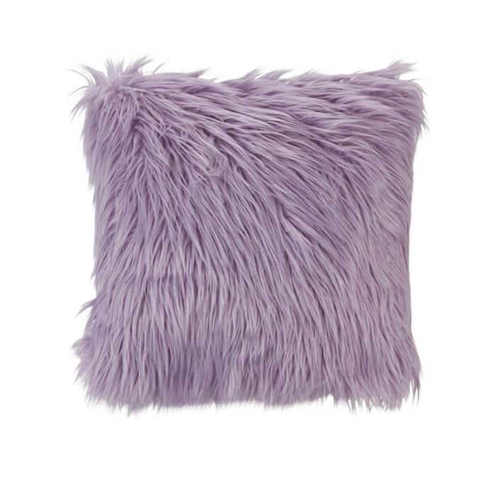 Argos Home Mongolian Faux Fur Cushion
