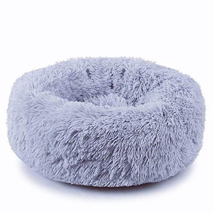 Plush Donut Pet Bed