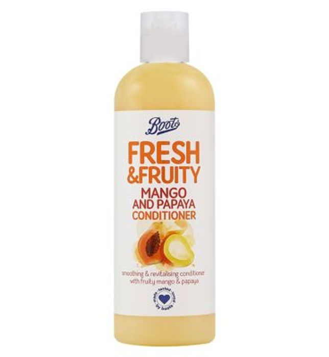 Boots Fresh Mango & Papaya Conditioner 500ml - Only £0.75!
