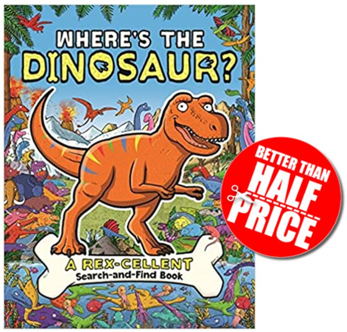 Where's the Dinosaur? Search-and-Find Activity Book **4.8 STARS** Age 5+