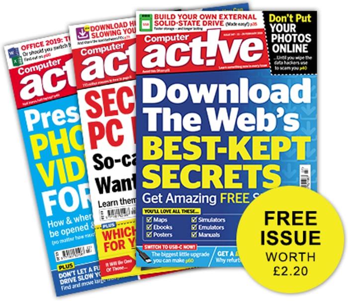 Free Copy of Computer Magazine