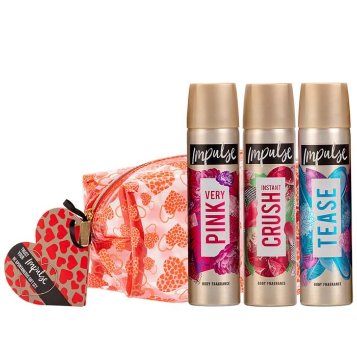 Impulse Be Spontaneous Beauty Bag Gift Set