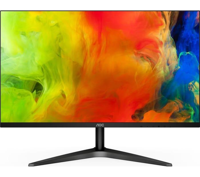 """AOC 24B1XH Full HD 23.8"""" LED Monitor - Black"""