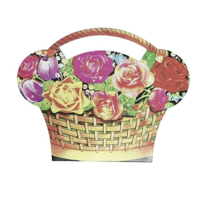 ONLY 19p! Basket of Flowers Sewing Kit
