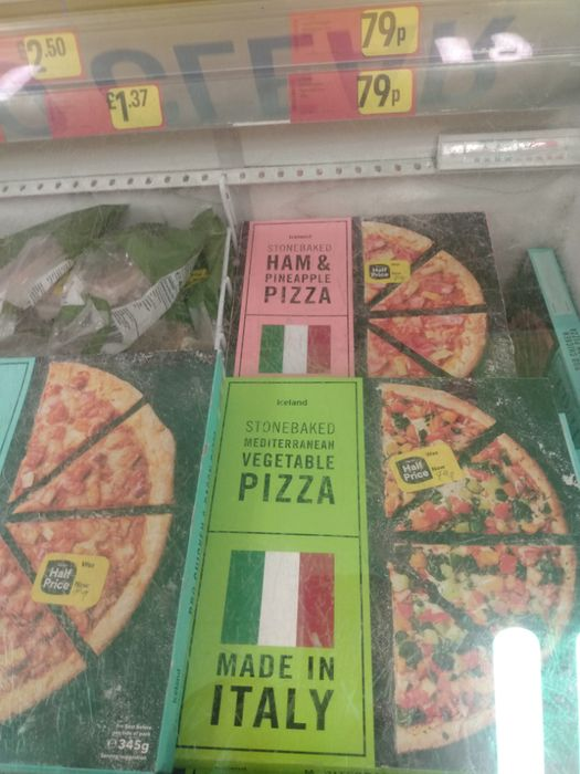 Stonebaked Pizzas Down From £1.5 to £0.79