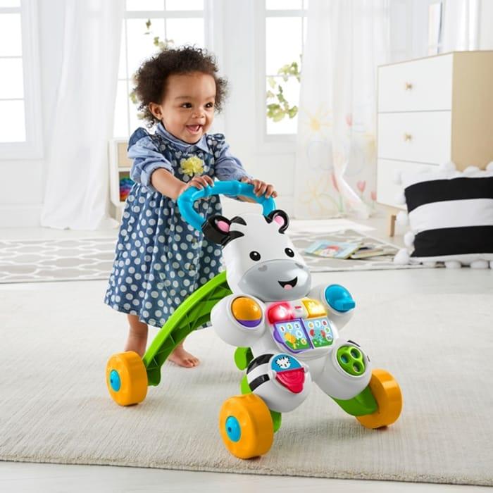 Fisher-Price Learn with Me Zebra Walker Baby Walker