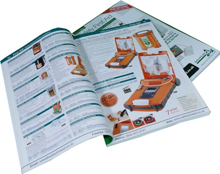 FREE 244 Page Safety First Aid Product Catalogue