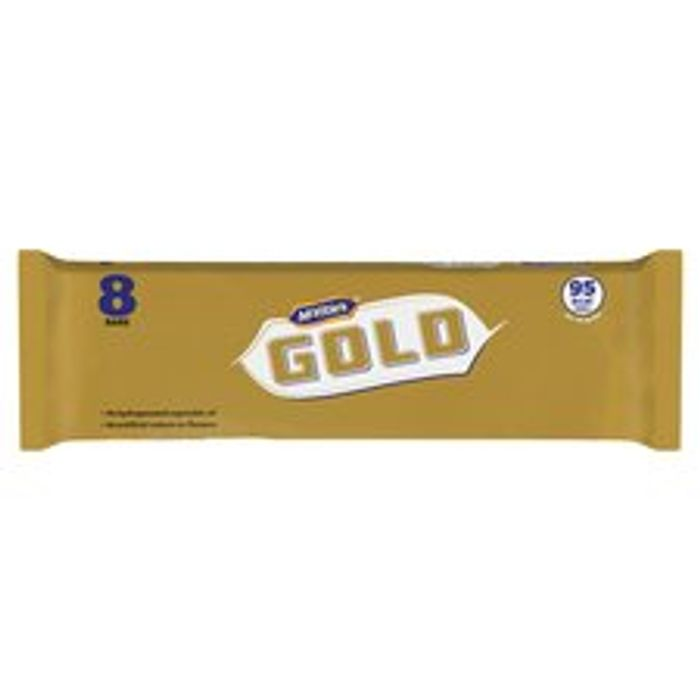 Mcvitie's Gold Bars 8 Pack 142G