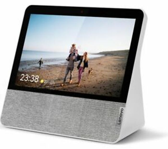"""LENOVO 7"""" Smart Display with Google Assistant - Grey"""
