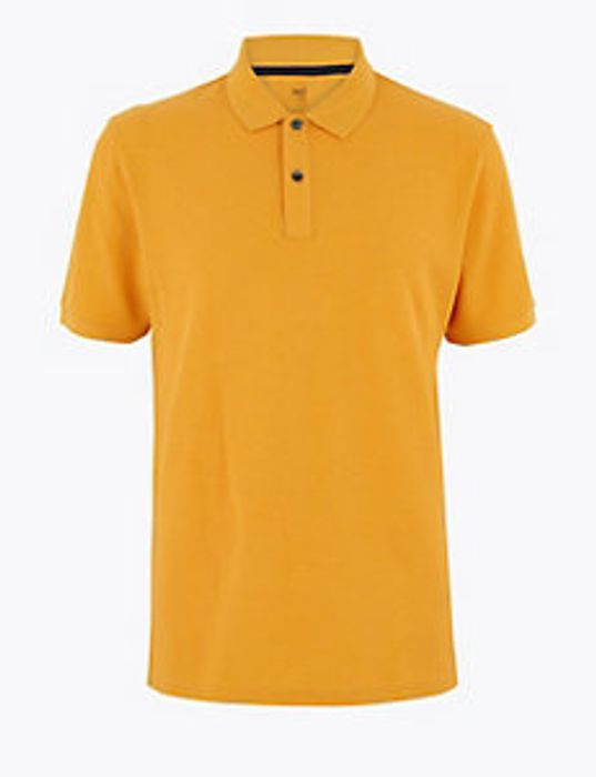Pure Cotton Polo Shirt - £5 at Marks & Spencer (Free C&C