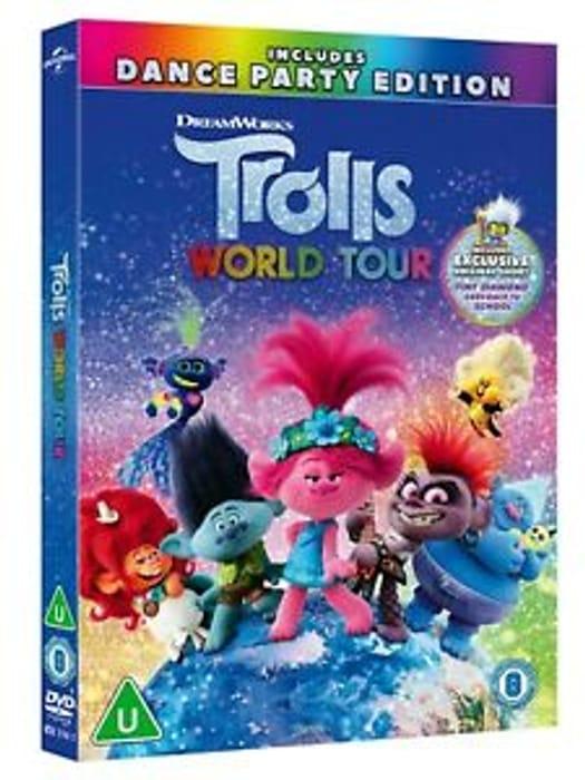 Trolls World Tour DVD - £6.57 Delivered