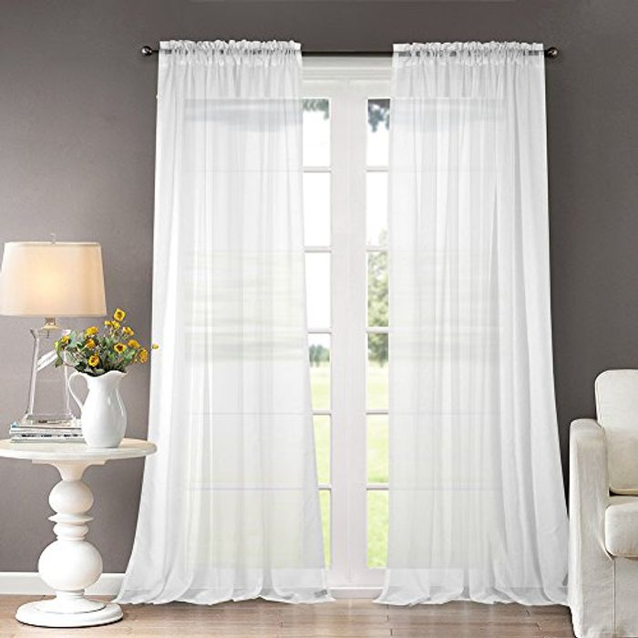 Dreaming Casa Sheer Curtains - Only £3.60!