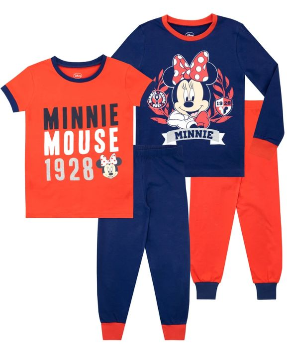 Minnie Mouse Pyjamas - Snuggle Fit Pack of 2