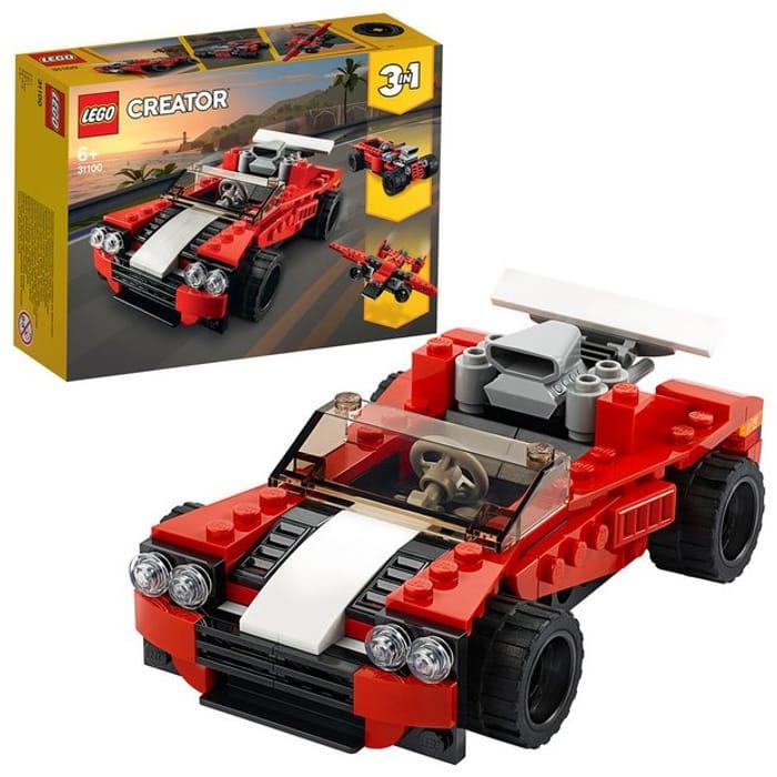 LEGO Creator 3in1 Sports Car Toy Set