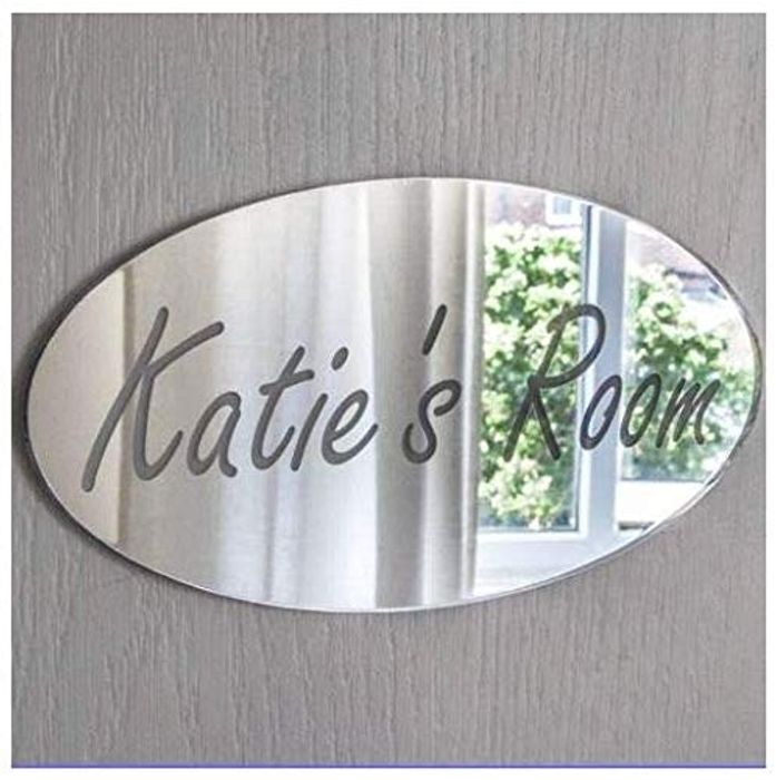Laserables Personalised Door Name Plaque Boy or Girls Bedroom Room