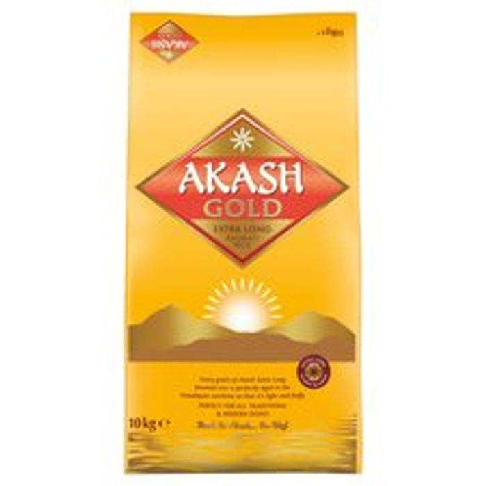 Akash Gold Basmati Rice 10Kg at Tesco