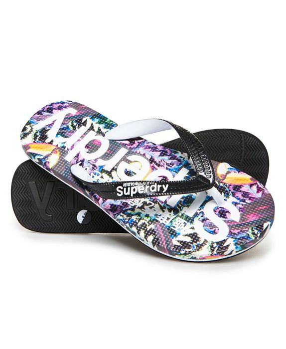 Superdry All over Print Flip Flops