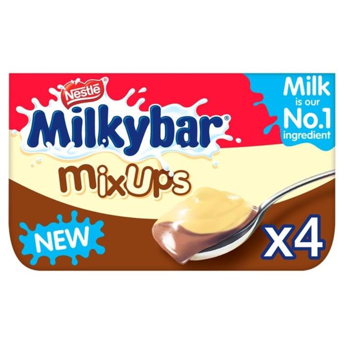 Milkybar Mix Ups 4 X 65g