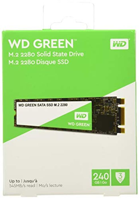 WD Green 240 GB Internal SSD M.2 SATA