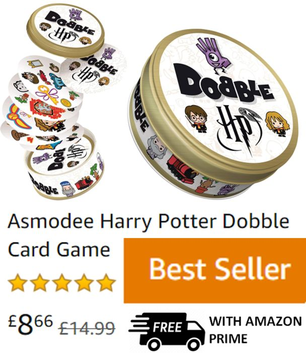 CHEAP PRICE! HARRY POTTER Dobble Card Game