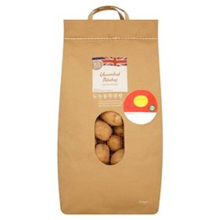 Morrisons Unwashed Potatoes