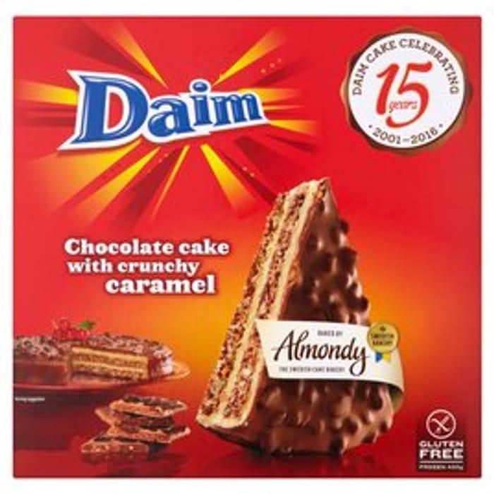 Daim Chocolate Cake with Crunchy Caramel 400g