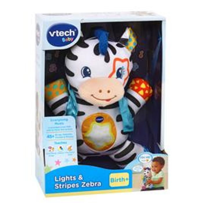 Vtech Lights & Stripes Zebra at Morrisons