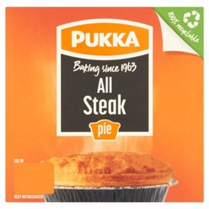 Pukka Pies ( 6 Varieties ) at Morrisons