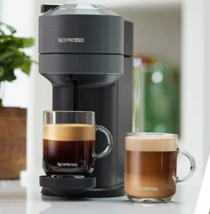 CHEAP! Nespresso Vertuo Coffee Machine + 50 FREE Capsules - £79 Delivered