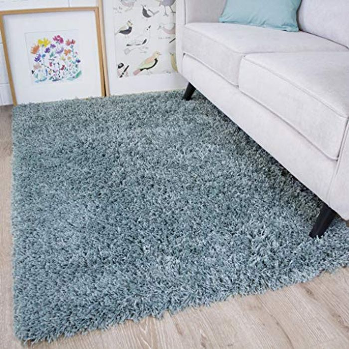 The Rug House Soft Non Shed Thick Plain Easy Clean Shaggy Rugs Ontario