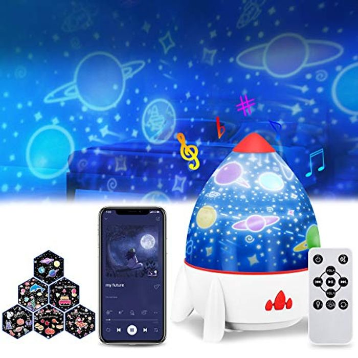 DEAL STACK - Star Night Light Projector for Kids + 10% Coupon