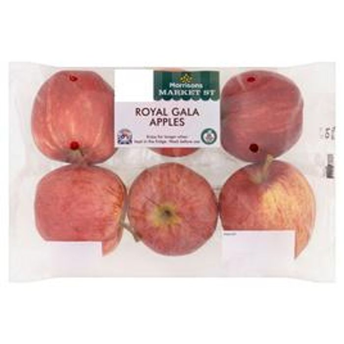 Morrisons Royal Gala Apples 6 per Pack