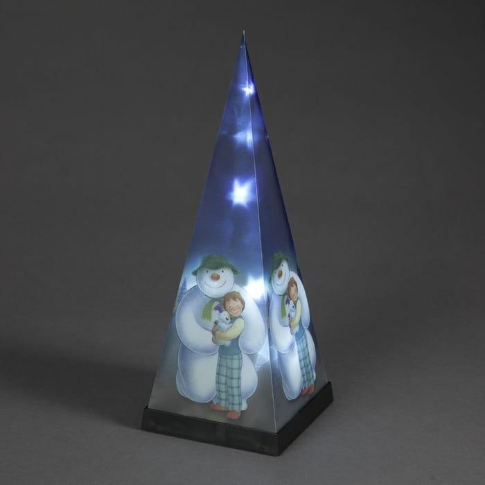 The Snowman LED Laser Pyramid at the Range
