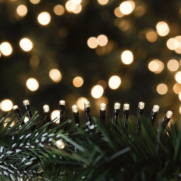The Range Christmas 48 LED Outdoor Battery Light Chain - Warm White