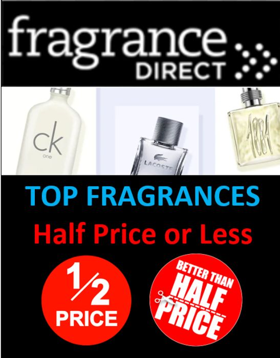 Top Fragrances - HALF PRICE or LESS - Fragrance Direct Deals