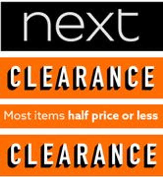 NEXT CLEARANCE - Half Price or Less