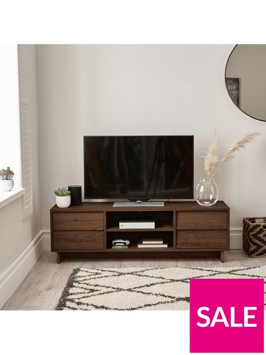 *SAVE £100* Leon Wide TV Unit - Fits up to 70 Inch TV