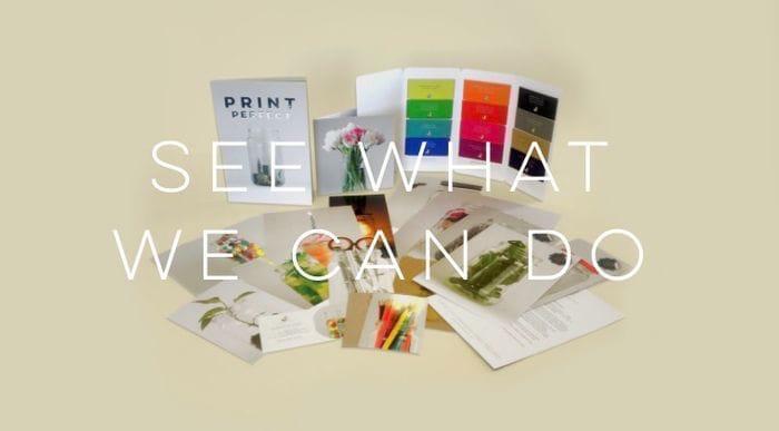 Free Printed Sample Pack.