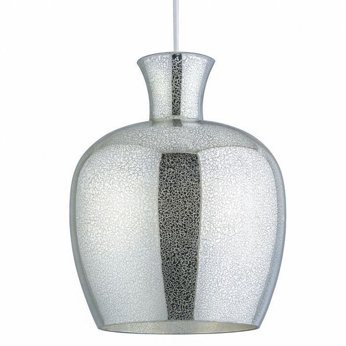 The Range. Mercury Crackle Effect Pendant - Mercury