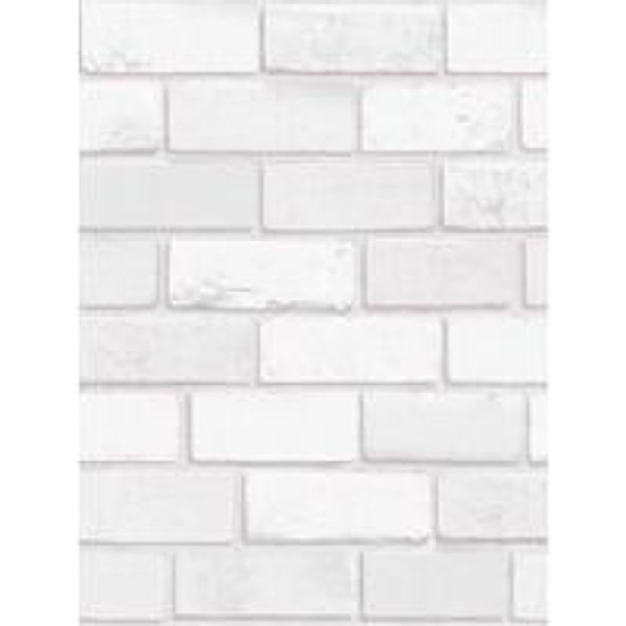 Cheap ARTHOUSE Diamond Brick White Wallpaper - Only £14!