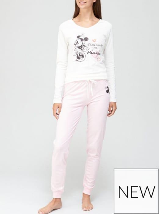 Minnie Mouse Pyjamas - Grey