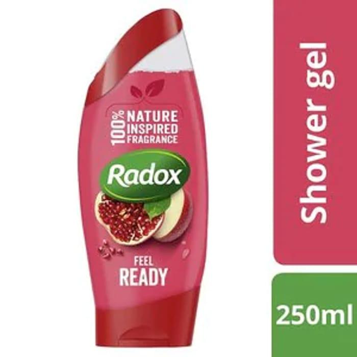 BOGOF on Selected Radox Shower Gel or Shower Cream 250ml