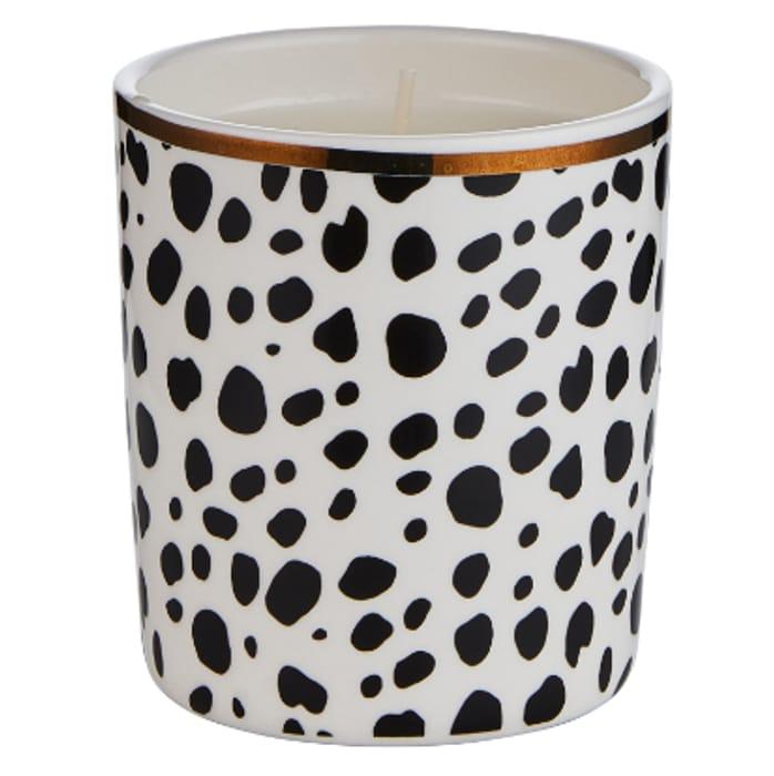 Dalmatian Ceramic Candle at Homebase