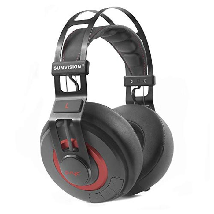 Sumvision Psyc Wave ZX Wireless Bluetooth Headphones with Enhanced Bass