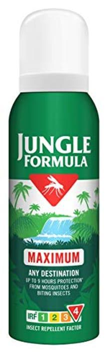 Jungle Formula Maximum Insect Repellent Spray with DEET, 125 Ml